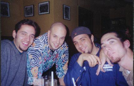 Rob, Jason, Frank, & Kevin
